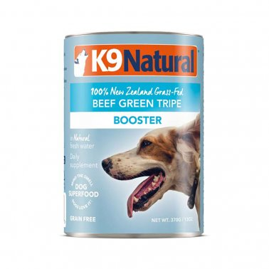 K9 Natural Booster Beef Green Tripe Grain-Free Wet Supplement for Dogs