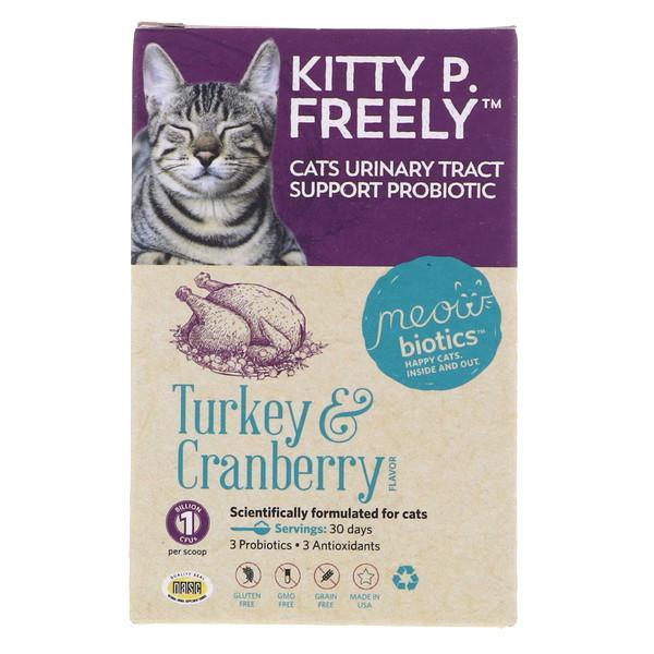 Fidobiotics Meowbiotics Kitty P. Freely UTI Probiotic Powder Cat Supplement