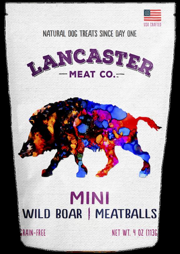 Lancaster Meat Co Mini Meatballs Wild Boar, 4-oz
