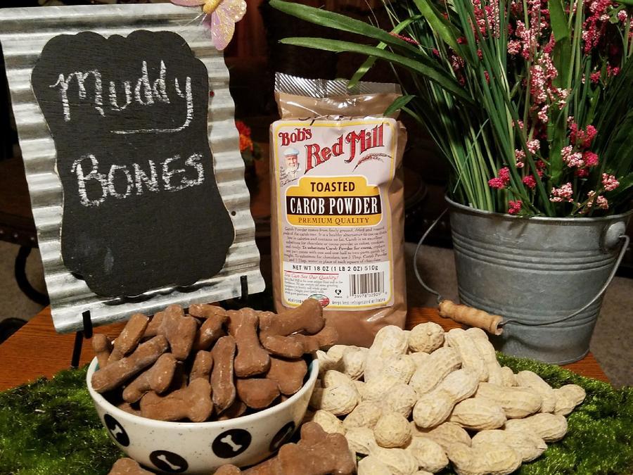 Mooch's Munches Muddy Bones Dog Treats, 1/4-lb