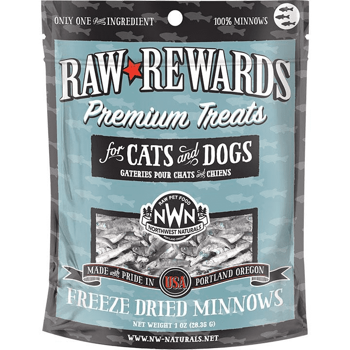 Northwest Naturals Raw Rewards Minnows Freeze Dried Dog & Cats Treats