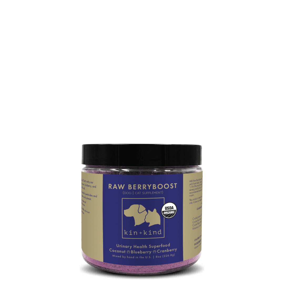 Kin+Kind Raw Berryboost Superfood Supplement For Dogs & Cats