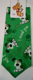 Mooch's Munchies Bandanna Dog Bandana, St. Patrick's Day Pups, Toy