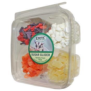 Exotic Nutrition Variety Pack Sugar Glider Treats