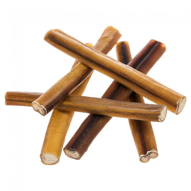 Sweetgrass 6 Inch Bully Stick Value Pack, 8 Ounce Bag