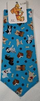 Mooch's Munchies Bandanna Dog Bandana, Turquoise Dogs, Small