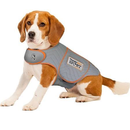 ThunderShirt SPORT Platinum Anxiety & Calming Solution for Dogs, Heather Grey
