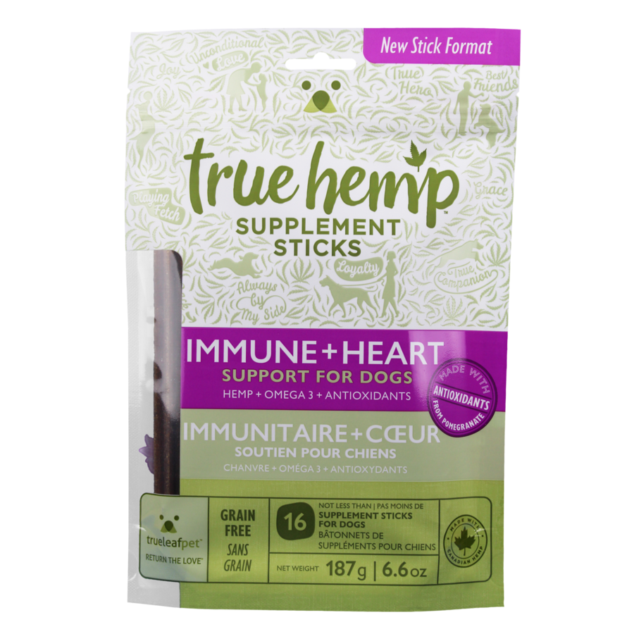True 'IMMUNE + HEART' Sticks for Dogs 6.6-oz