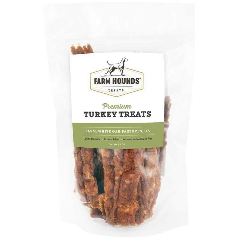Farm Hounds Premium Turkey Dog Treats, 4.5-oz