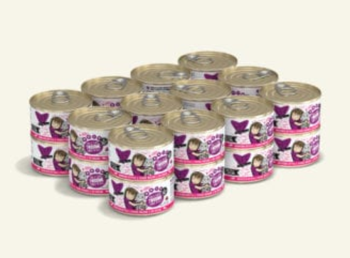 BFF Originals Twosome Tuna & Tilapia Dinner in Gelee Grain-Free Wet Cat Food, 5.5-oz, case of 24