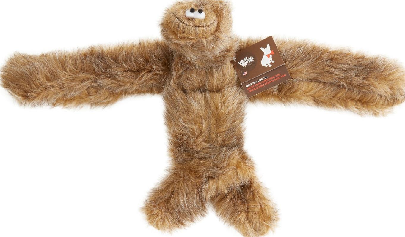 West Paw Tango Dog Toy, Brown