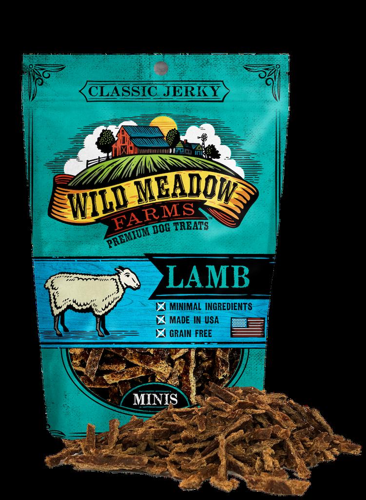 Wild Meadow Farms Classic Jerky Minis Lamb, 4-oz