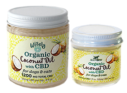 Wisely Organic Coconut Oil for Dogs & Cats