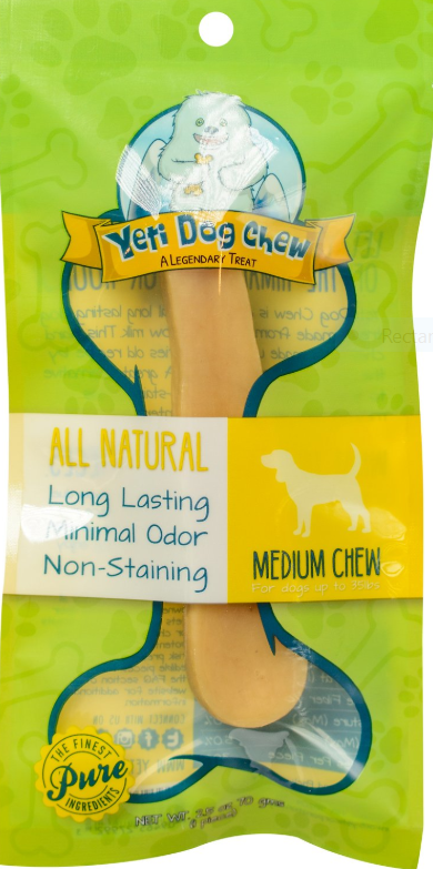 Yeti Dog Chew Medium Himalayan Cheese Dog Treat