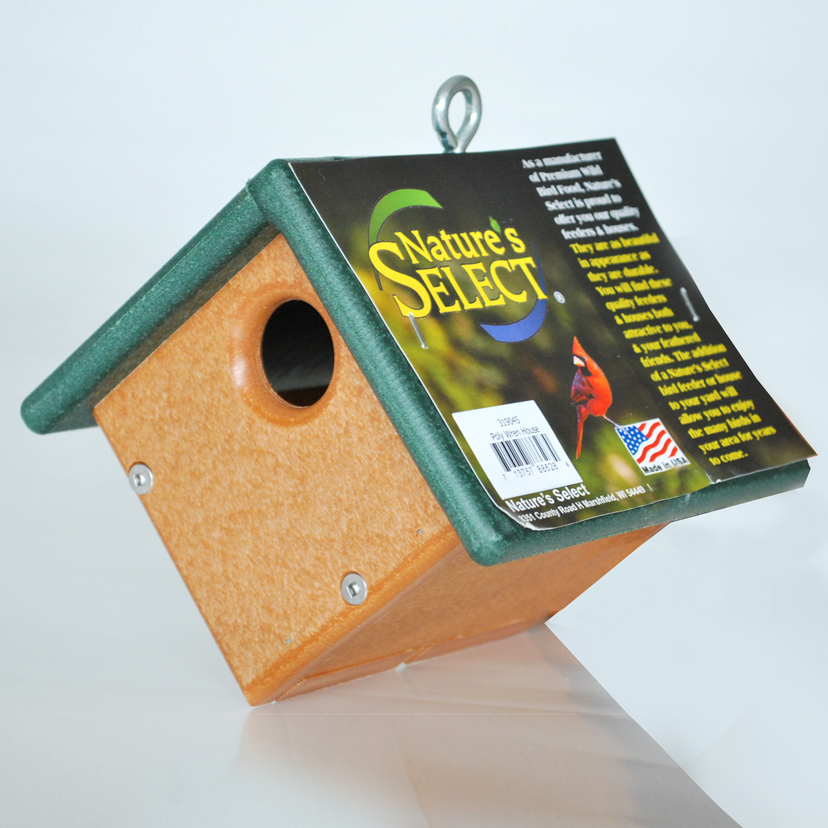 Nature's Select All Poly Wood Wren Bird House
