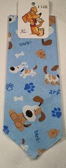 Mooch's Munchies Bandanna Dog Bandana, Blue Pup, Toy