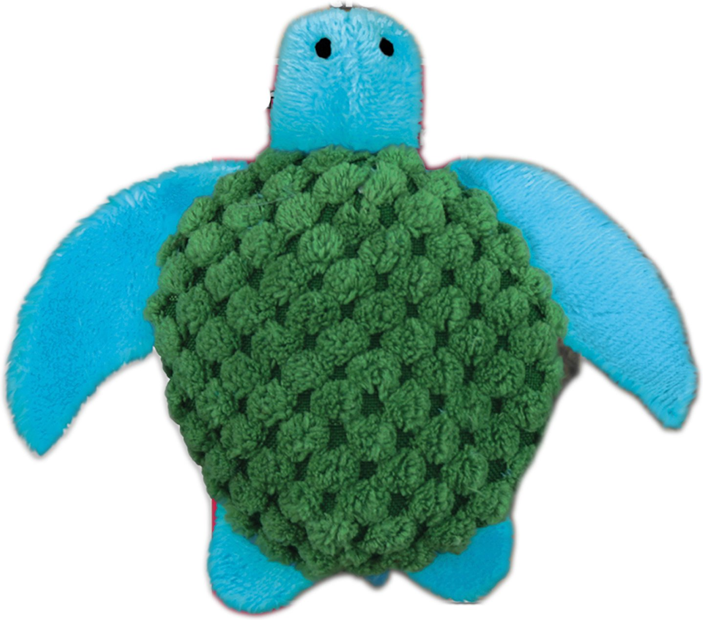 KONG Bright Turtle Refillable Catnip Cat Toy