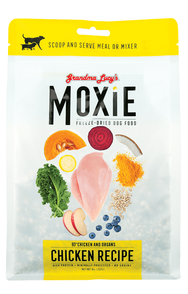 Grandma Lucy's Moxie Chicken Recipe Freeze-Dried Dog Treats, 8-oz