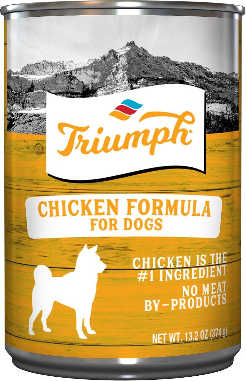 Triumph Chicken Formula Canned Dog Food, 13.2-oz
