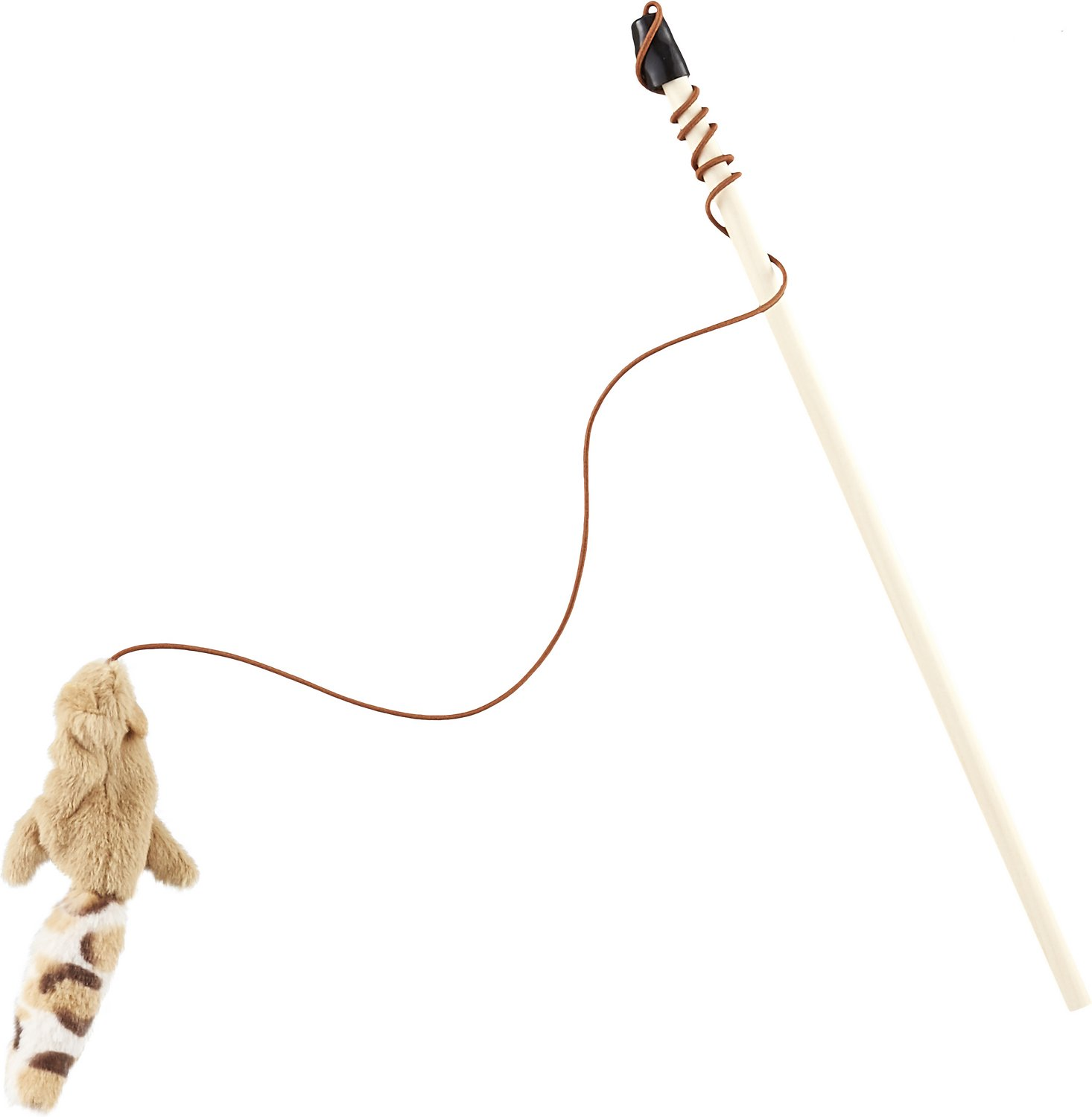 Ethical Pet Skinneeez Friend Teaser Wand with Catnip Cat Toy