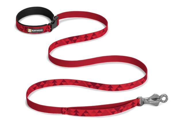 Ruffwear Flat out Dog Leash, Red Butte