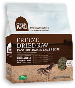 Open Farm Grain Free Pasture Raised Lamb Recipe Freeze Dried Raw Dog Food, 13.5-oz