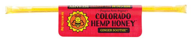 Colorado Honey Ginger Soothe Full Spectrum Extract Sticks, 1-count (15-mg)