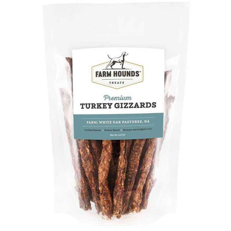 Farm Hounds Premium Turkey Gizzards Sticks Dog Treats, 4.5-oz