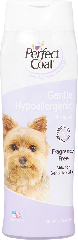 Perfect Coat Gentle Hypoallergenic Dog Shampoo, 16-oz bottle