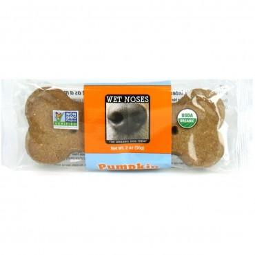 Wet Noses Pumpkin Quinoa Big Bone Dog Treats, 2.4-oz