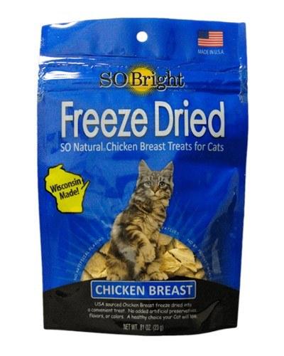 SO Bright Chicken Freeze-Dried Cat Treats, 0.81-oz