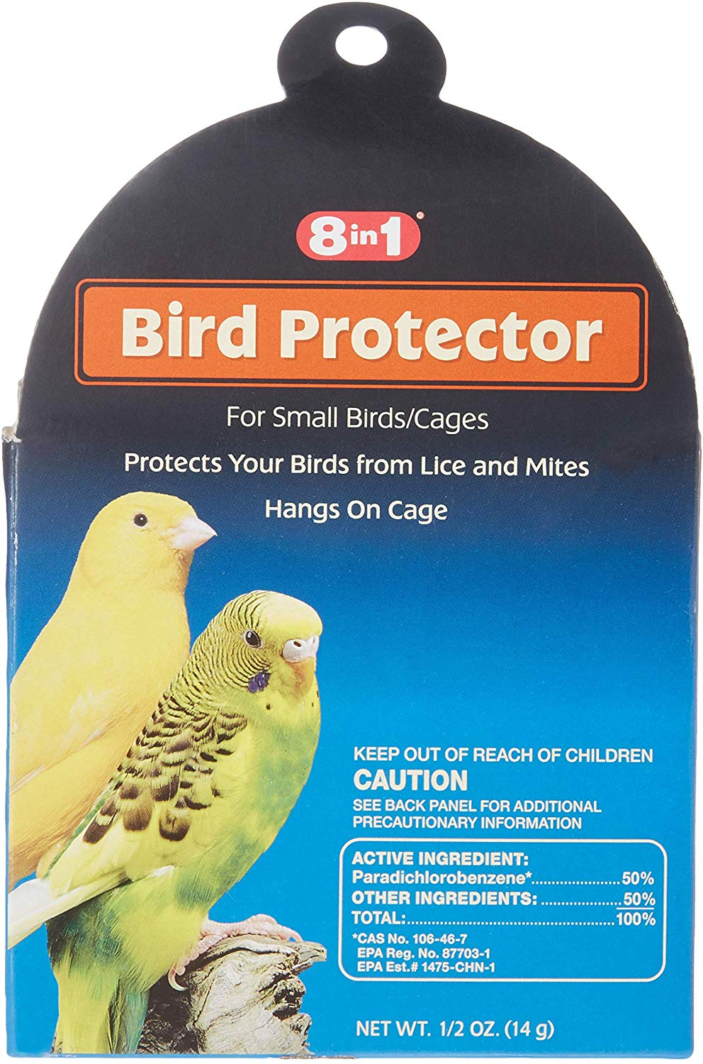 8 in 1 Lice & Mites Bird Protector, Small