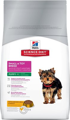 Hill's Science Diet Puppy Small & Toy Breed Dry Dog Food, 4.5-lb bag