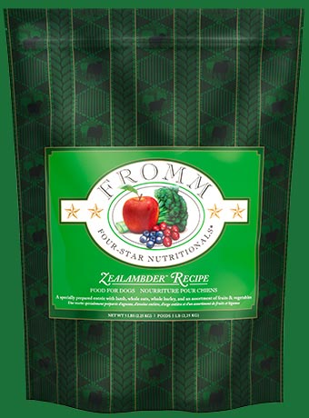 Fromm Four Star Zealambder Recipe Dry Dog Food, 15-lb Size: 15-lb