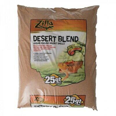 Zilla Ground English Walnut Shell Reptile Bedding, 25-qt