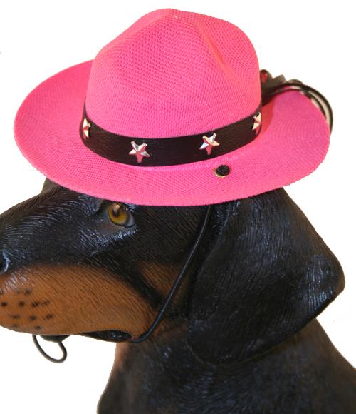 PAMPET / Puppe Love Dog Hat, Drill Sergeant Pink