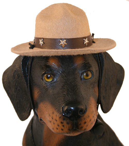 PAMPET / Puppe Love Dog Hat, Drill Sergeant Camel