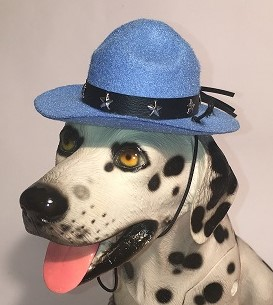 PAMPET / Puppe Love Dog Hat, Drill Sergeant Light Blue