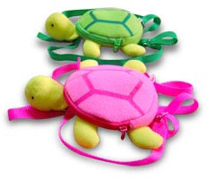 PAMPET / Puppe Love Dog Backpack, Turtle Pink