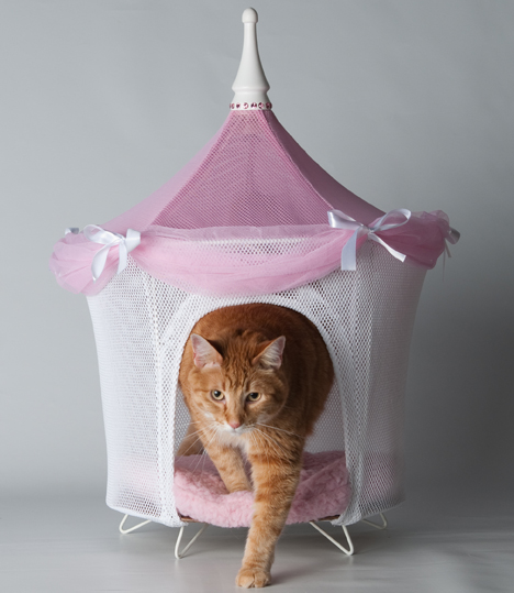 PAMPET / Puppe Love Tent Bed, Pretty in Pink