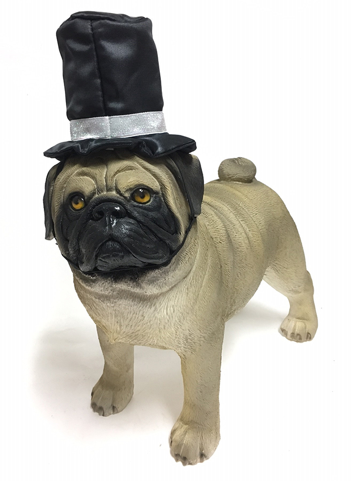 PAMPET / Puppe Love Dog Hat, Top Hat Deluxe, Small