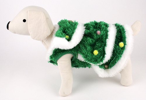 PAMPET / Puppe Love Dog Costume, Christmas Tree, Size 5