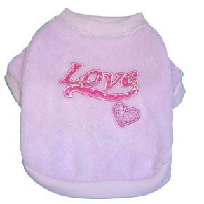 PAMPET / Puppe Love Dog Sweatshirt, Warm Love, Size 0