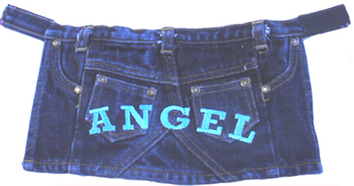 PAMPET / Puppe Love Dog Skirt, Denim Angel, Size 2