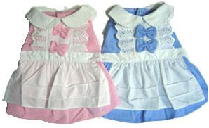 PAMPET / Puppe Love Dog Dress, Maid Pink, Size 0