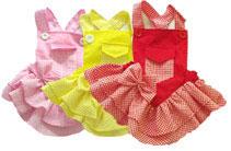 PAMPET / Puppe Love Dog Dress, Mini Pocket Yellow, Size 5