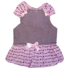 PAMPET / Puppe Love Dog Dress, Sweet Dog Pink, Size 5