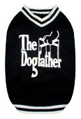 PAMPET / Puppe Love Dog T-Shirt, The Dogfather, Size 5
