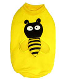 PAMPET / Puppe Love Dog Shirt, Yellow Bee, Size 0