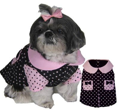 PAMPET / Puppe Love Dog Dress, City Girl, Size 1